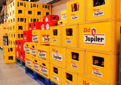 Bier, pils, Jupiler en Cristal