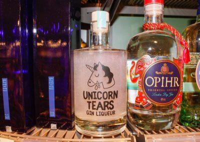 Unicorn Tears Gin en Opihr Gin