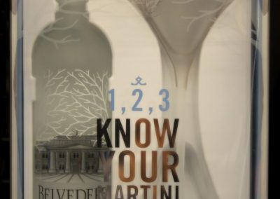 Belvedere vodka martini