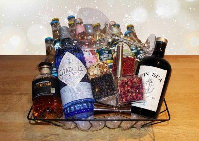 Geschenkmand Gin Tonic