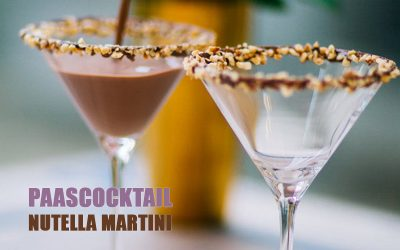 Paascocktail – Nutella Martini