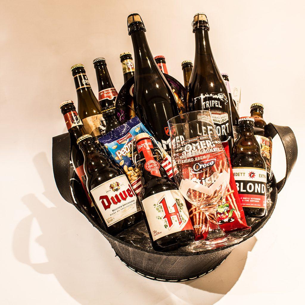 Bierkorf met gemengde bieren ter waarde van 45 euro
