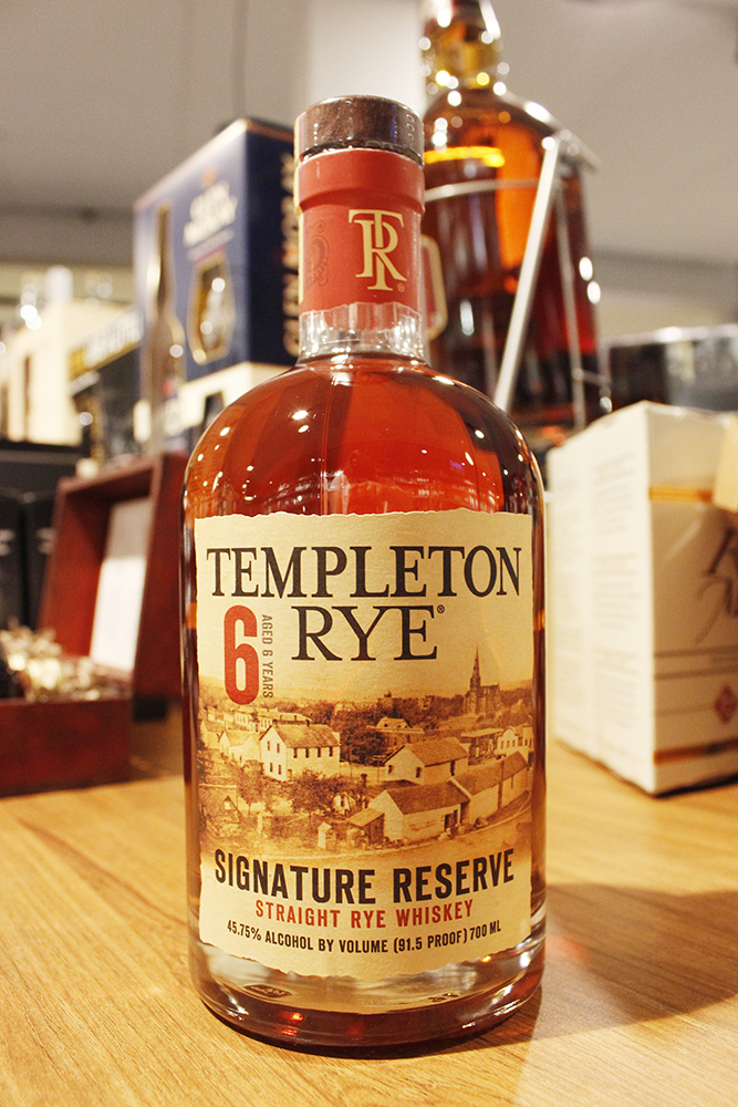 Templeton Rye 6y