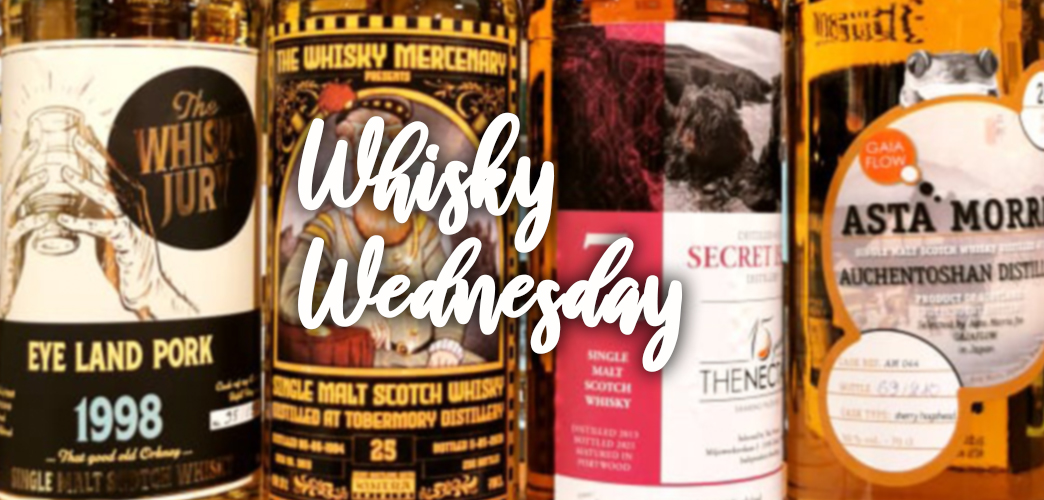 Belgische whisky bottelaars voor op de Nationale feestdag