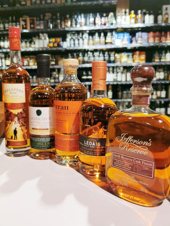 de invloed van wijnvaten op whisky